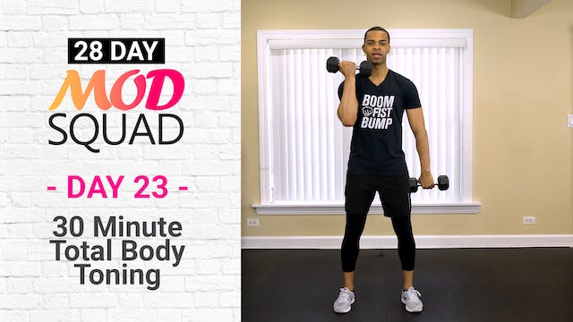 30 Minute Total Body Tone - Mod Squad #23