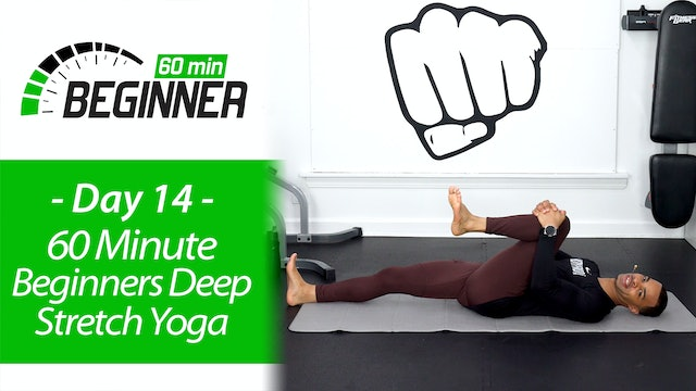60 Minute Light Deep Stretch & Recovery Yoga - Beginners 60 #14
