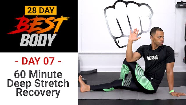 60 Minutes Deep Stretch Yoga & Mobility Workout - Best Body #07