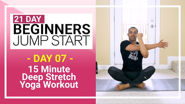 Day 07 - 15 Minute Total Body Beginners Deep Stretch