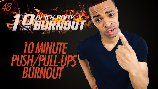 032 - 10 Minute Quick Calisthenics Home Workout w Pull-ups +