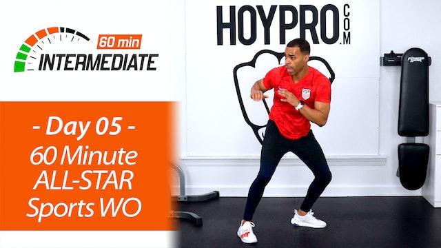 60 Minute All-Star Sports World Tour Workout - Intermediate 60 #05