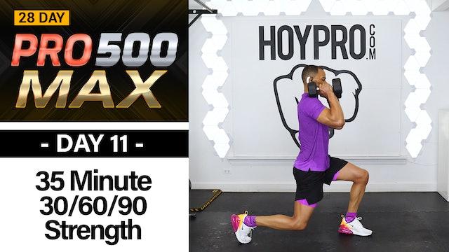 35 Minute Triple Threat 30/60/90 Strength BURNOUT!!! - PRO 500 MAX #11