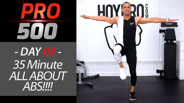 35 Minute ALL ABOUT ABS!!! Cardio Six-Pack Workout - PRO 500 #03