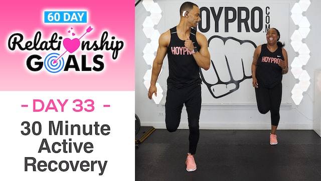 30 Minute KINDNESS Active Recovery Workout - Relationship Goals #33