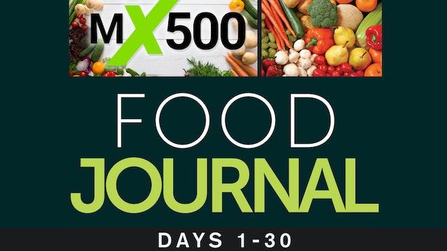 MX500 Food Journal - 30 Days.pdf