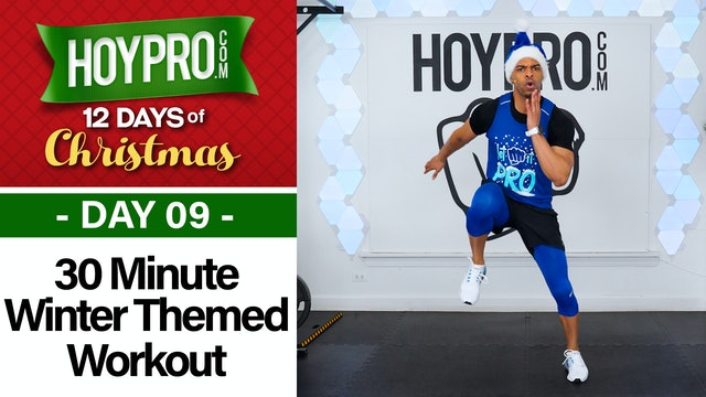 30 Minute Winter Wonderland Workout - 12 Days of Christmas #09