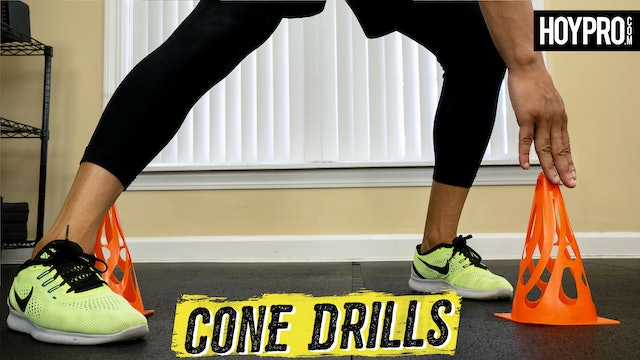 30 Minute Total Body Agility Cone Drills Workout