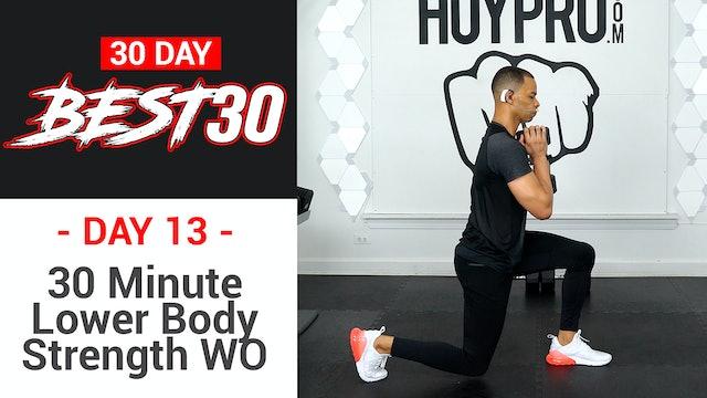 30 Minute Lower Body Leg Strength Workout - Best30 #13