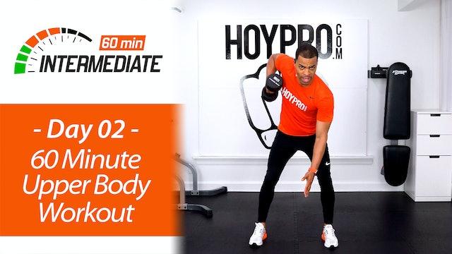60 Minute Intermediate Upper Body Workout - Intermediate 60 #02