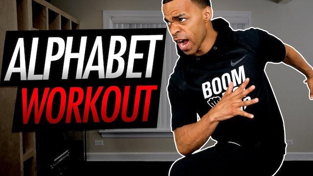 024 - 30 Minute A-Z Alphabet Themed Workout