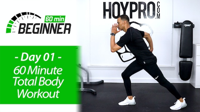 60 Minute Total Body Workout + Abs - Beginners 60 #01