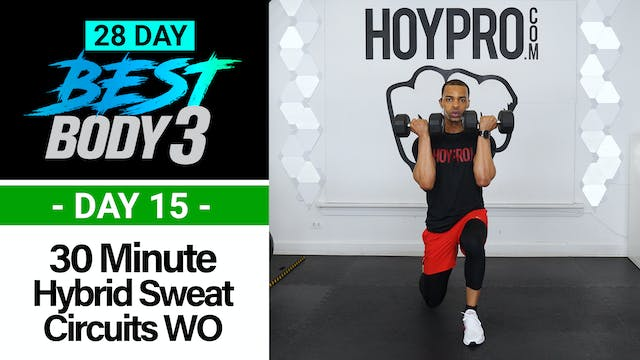 30 Minute Hybrid Sweat Circuits Worko...