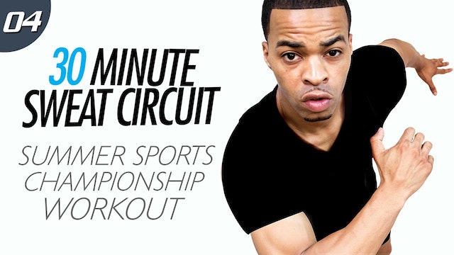 30 Minute Summer Sports Themed HIIT Workout - Sweat Circuit #04