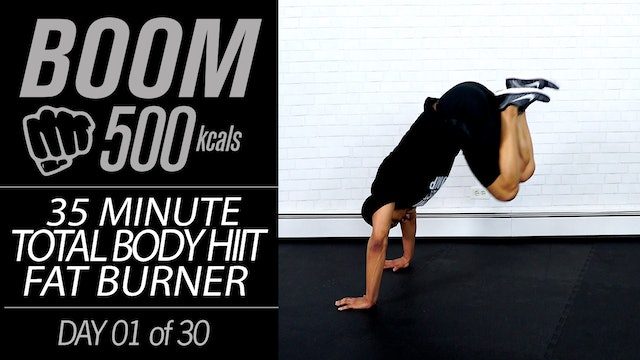 BOOM 500 - 30 Day 500 Calorie Workout Program