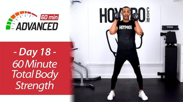60 Minute Advanced Total Body Tone & Strength - Advanced 60 #18
