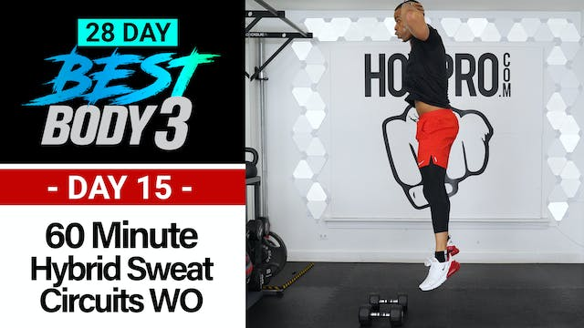 60 Minute Hybrid Sweat Circuits Worko...