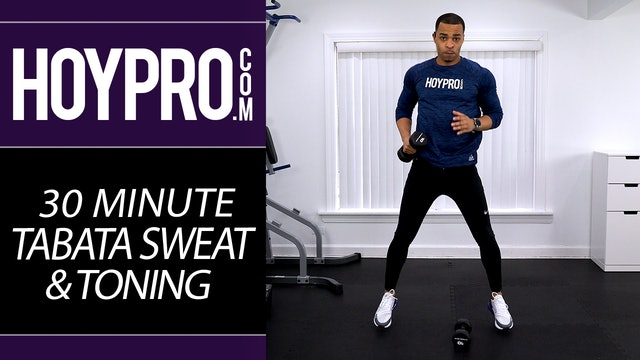 30 Minute Tabata Sweat HIIT & Strength Workout