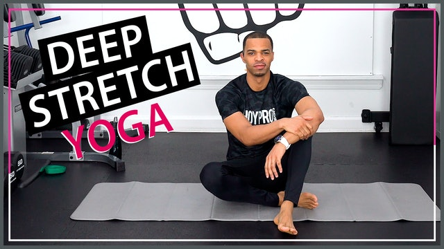 35 Minute Total Body Deep Yoga Stretch