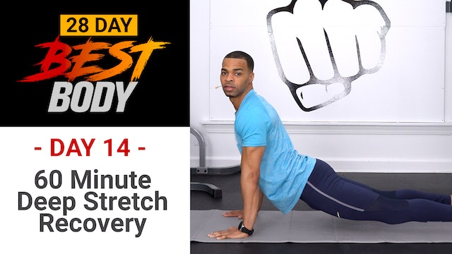 60 Minutes Deep Stretch Yoga Workout - Best Body #14