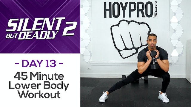 45 Minute Low Impact Lower Body  Workout - SBD2 #13