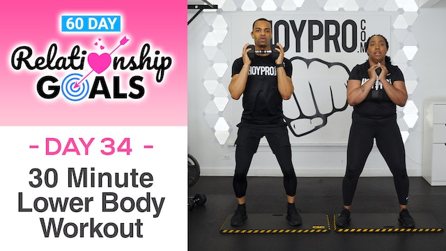30 Minute DEPENDENCE Lower Body Strength Workout - Relationship Goals #34