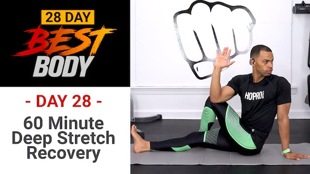 60 Minutes Deep Stretch Yoga & Mobility Workout - Best Body #28