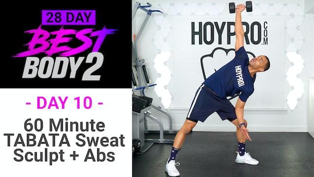 60 Minute TABATA Sweat Sculpt & Six-Pack - Best Body 2 #10