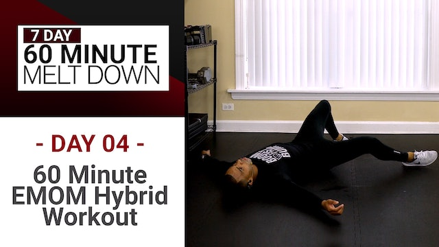 60 Minute EXTREME EMOM Workout - Melt Down #04