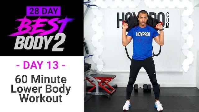 60 Minute Lower Body Plyo Strength & Skip Workout - Best Body 2 #13