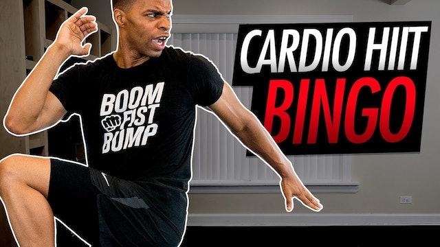 015 - 30 Minute HIIT Cardio BINGO Themed Workout