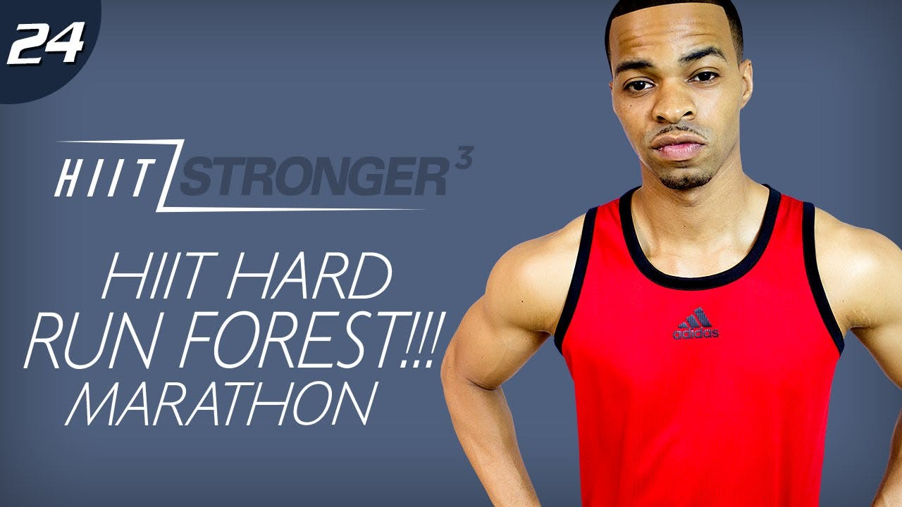 24 45 Minute Hiit Run Forest Run Forest Run Extreme