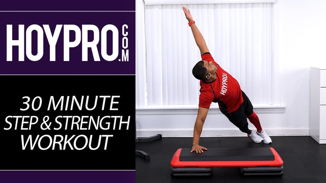 30 Minute EXTREME Step & Strength Hybrid Workout
