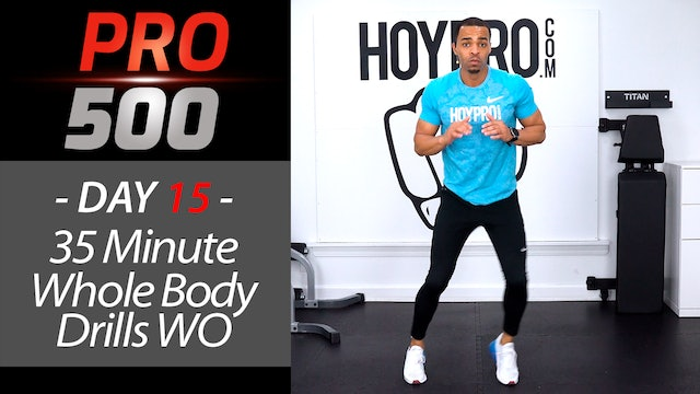 35 Minute Whole Body Burn + Abs Workout - PRO 500 #15