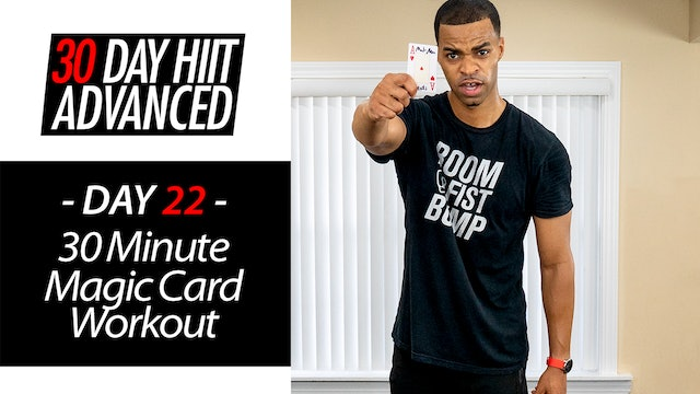 30 Minute Magic Card Lucky Draw Workout - Advanced #22