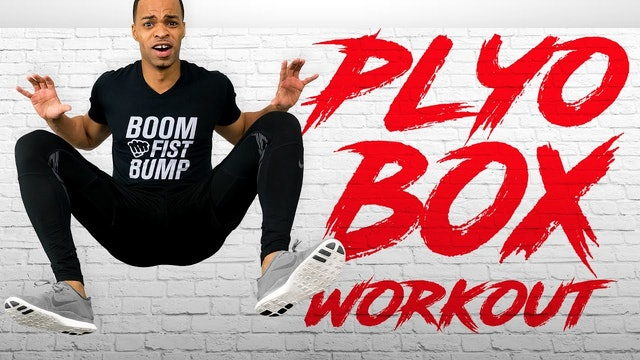 45 Minute Plyo Box & Strength EXTREME Total Body Plyo Toning Workout