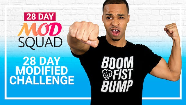 Mod Squad - 28 Day Modified Workout Challenge