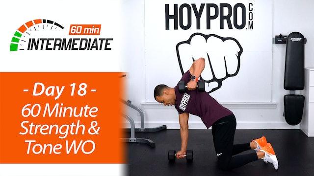 60 Minute Intermediate Total Body Tone & Strength  - Intermediate 60 #18