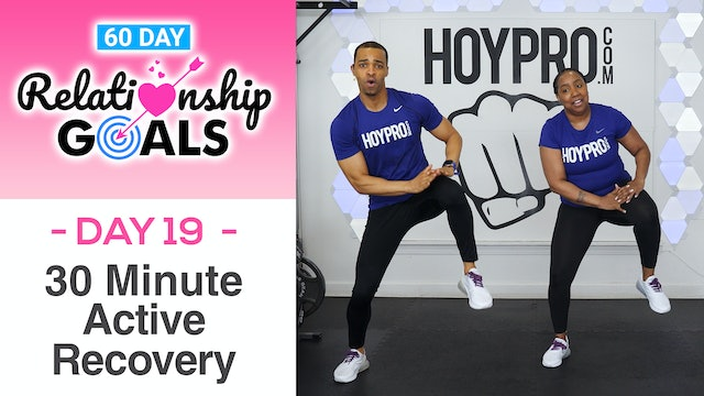 30 Minute SELF-LOVE Active Recovery Workout - Relationship Goals #19