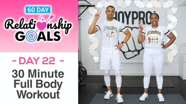 30 Minute SOLIDARITY Full Body Hybrid Workout - Relationship Goals #22