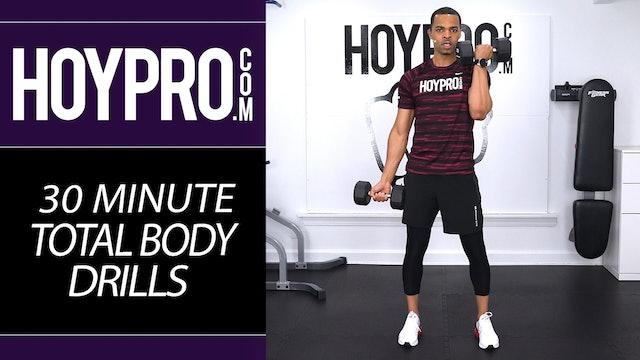30 Minute Total Body Workout Drills - HIIT & Strength
