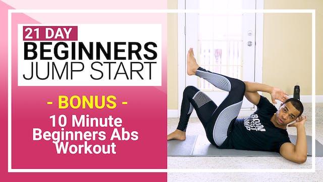 Bonus - 10 Minute Beginner Ab Workout