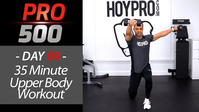 35 Minute Upper Body PUMP!!! Advanced Arms Workout - PRO 500 #09