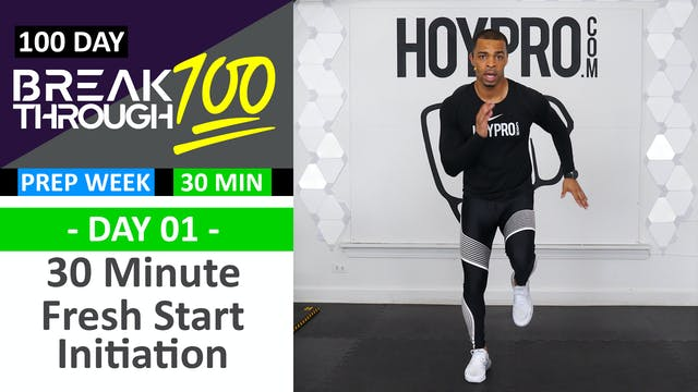 #01 - 30 Minute Fresh Start Initiatio...