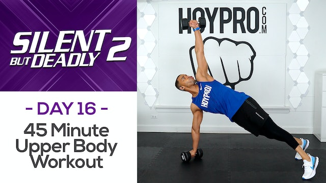 45 Minute Low Impact Upper Body Workout - SBD2 #16