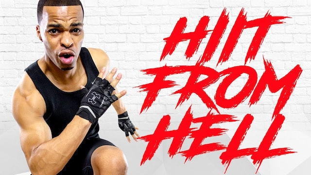 30 Minute Non-Stop HIIT Workout from HELL!!!