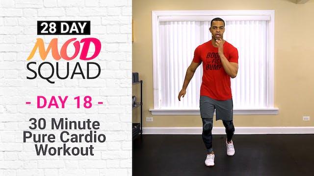 30 Minute Pure Cardio - Mod Squad #18