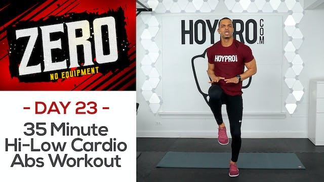 35 Minute Hi-Low Cardio Mat Abs - ZERO #23