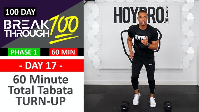 #17 - 60 Minute TURN UP Tabata & Toni...