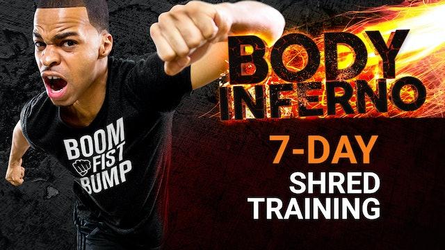 Full Body Inferno - 7 Day Shred Training Program